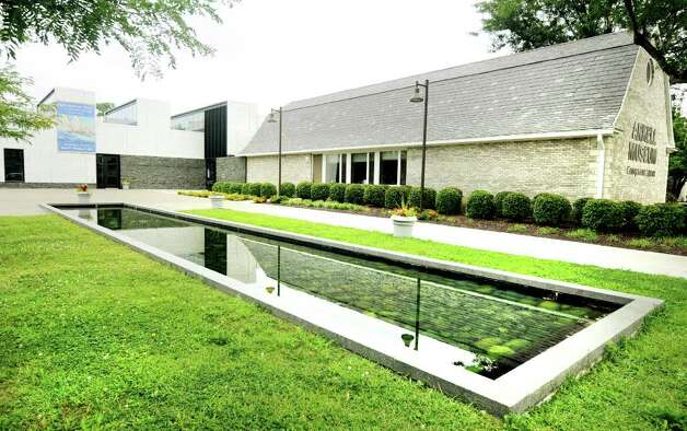 The Arkell Museum at Canajoharie & The Canajoharie Library, and the reflecting pool, on Erie Boulevard in Canajoharie. (Luanne M. Ferris/Times Union) Photo: Luanne M. Ferris