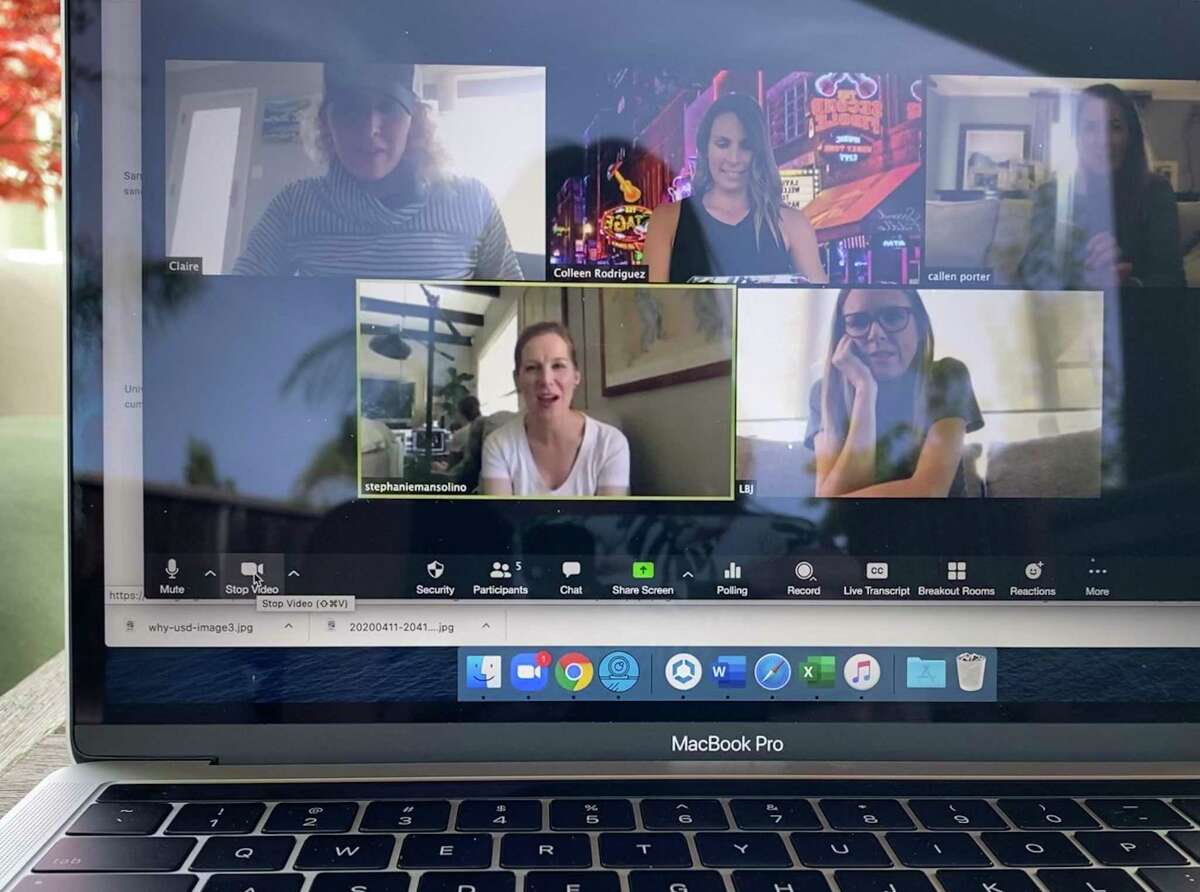 Zoom, a video conferencing service for businesses, is now being use for social gatherings in the age of quarantines and social isolation.