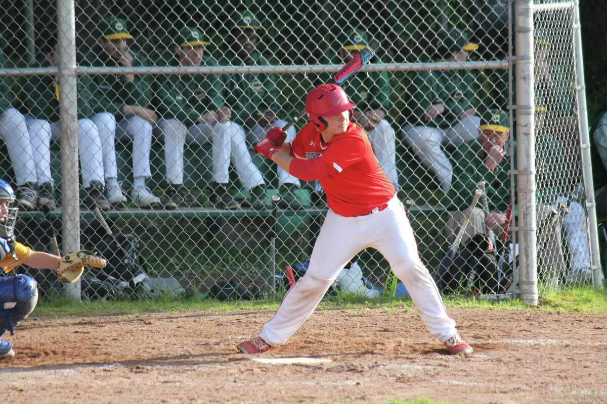 Greenwich High School senior Hunter Gruenstrass served as one of the captains of the Cardinals' baseball team. He will try out for the Western New England baseball team in the fall.