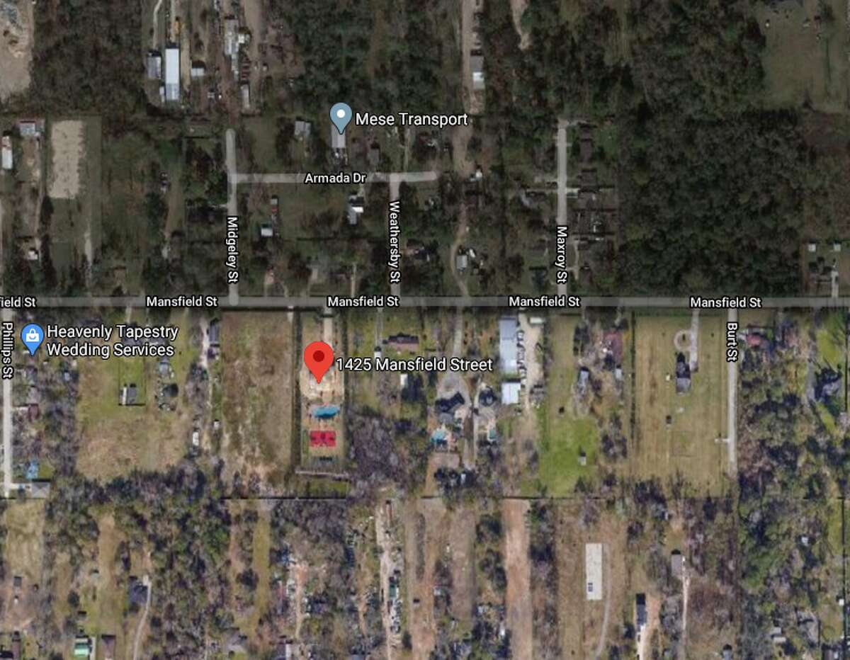 A woman and a 5-year-old boy were transported to the hospital Saturday afternoon after apparently drowning in a backyard swimming pool in the 1400 block of Mansfield