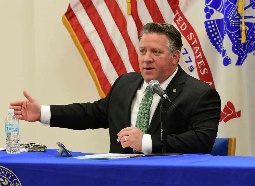 Albany County Executive Dan McCoy. (Lori Van Buren/Times Union)