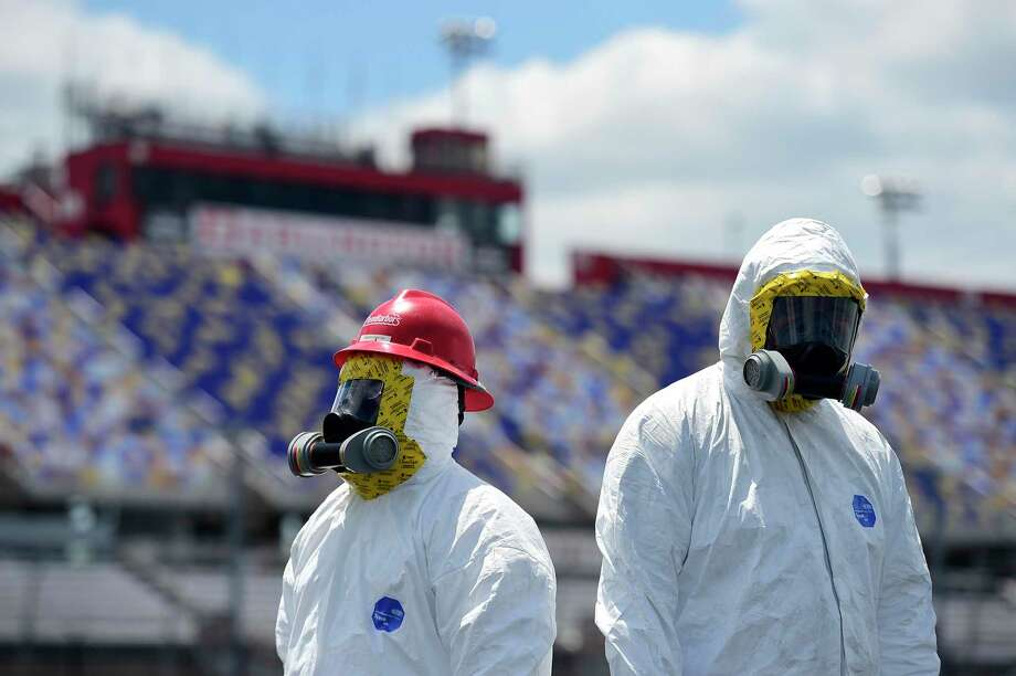 NASCAR is ready to resume its season today at Darlington, S.C., without fans and nonessential personnel. The only people allowed are drivers, key crew members and one sideline reporter. Photo: Jared C. Tilton /Getty Images / 2020 Getty Images