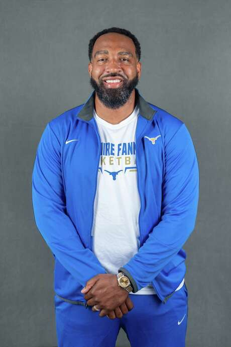 2020 Super Gold Boys Basketball Coach of the Year Tigee Rideaux, coach of the Hamshire-Fannett Longhorns. Photo made on May 15, 2020.  Fran Ruchalski/The Enterprise Photo: Fran Ruchalski, The Enterprise / The Enterprise / © 2020 The Beaumont Enterprise