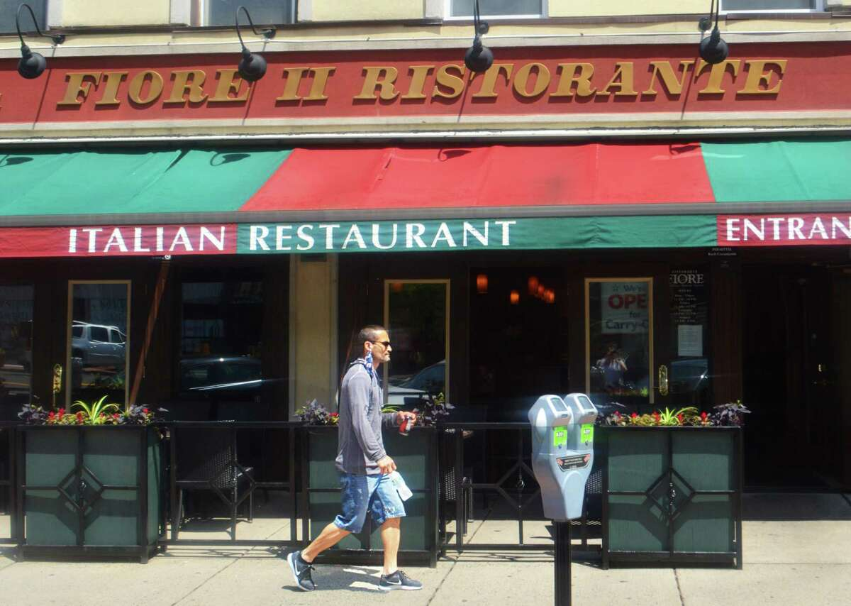 Fiore II Ristorante on Main Street in Middetown already has an outdoor dining area.
