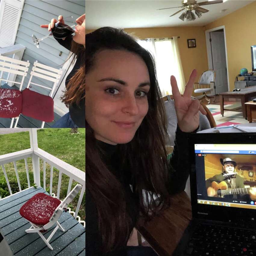 Were you Seen at the Saratoga Springs Preservation Foundation's Virtual Porch Party held Saturday, May 9th, 2020?