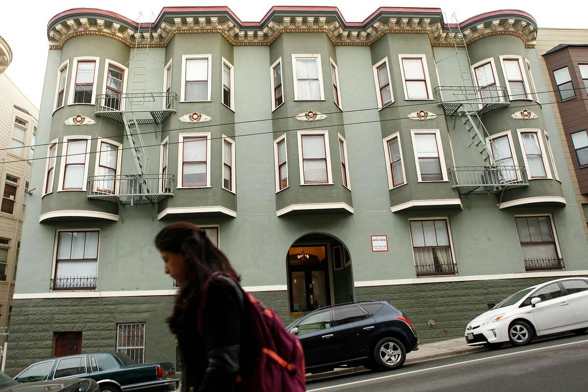 One of the buildings owned by Veritas Investments in the Nob Hill neighborhood as seen in San Francisco Calif. on Friday, November 3, 2017.