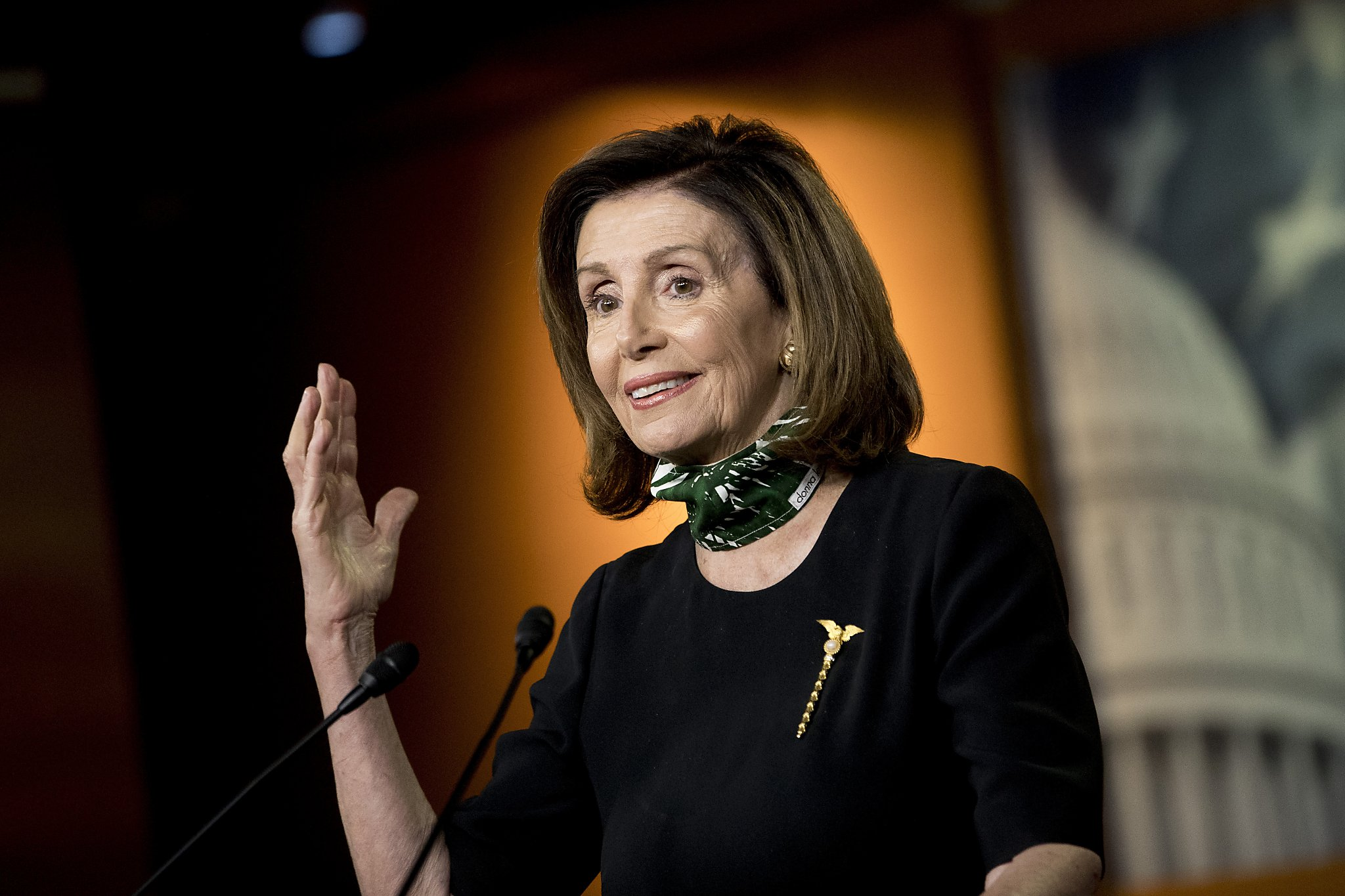 Nancy Pelosi says 'morbidly obese' Trump should not be taking hydroxychloroquine