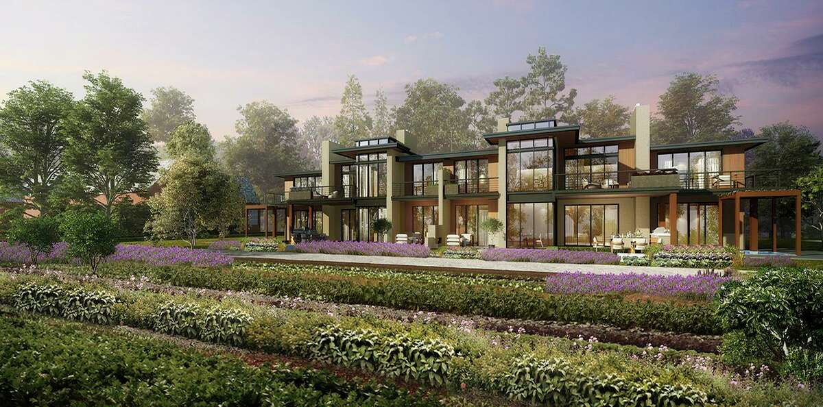 The Farm Villa neighborhood at Pendry Residences Natirar will offer fully-furnished, two-bedroom, 2,400-square-foot homes with private access to the resort's 12-acre farm.
