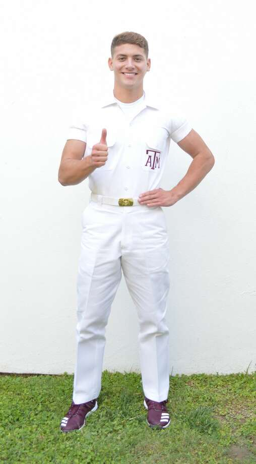 Memo Salinas in his Yell Leader uniform. Photo: Courtesy Photo