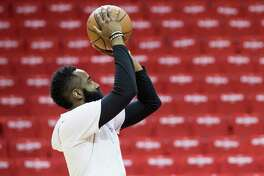 Though only one player will be allowed at each basket, James Harden and the Rockets can get back into Toyota Center starting Monday.