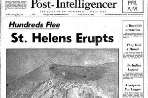 The front page ofthe SeattlePost-Intelligencerfrom March 28, 1980.