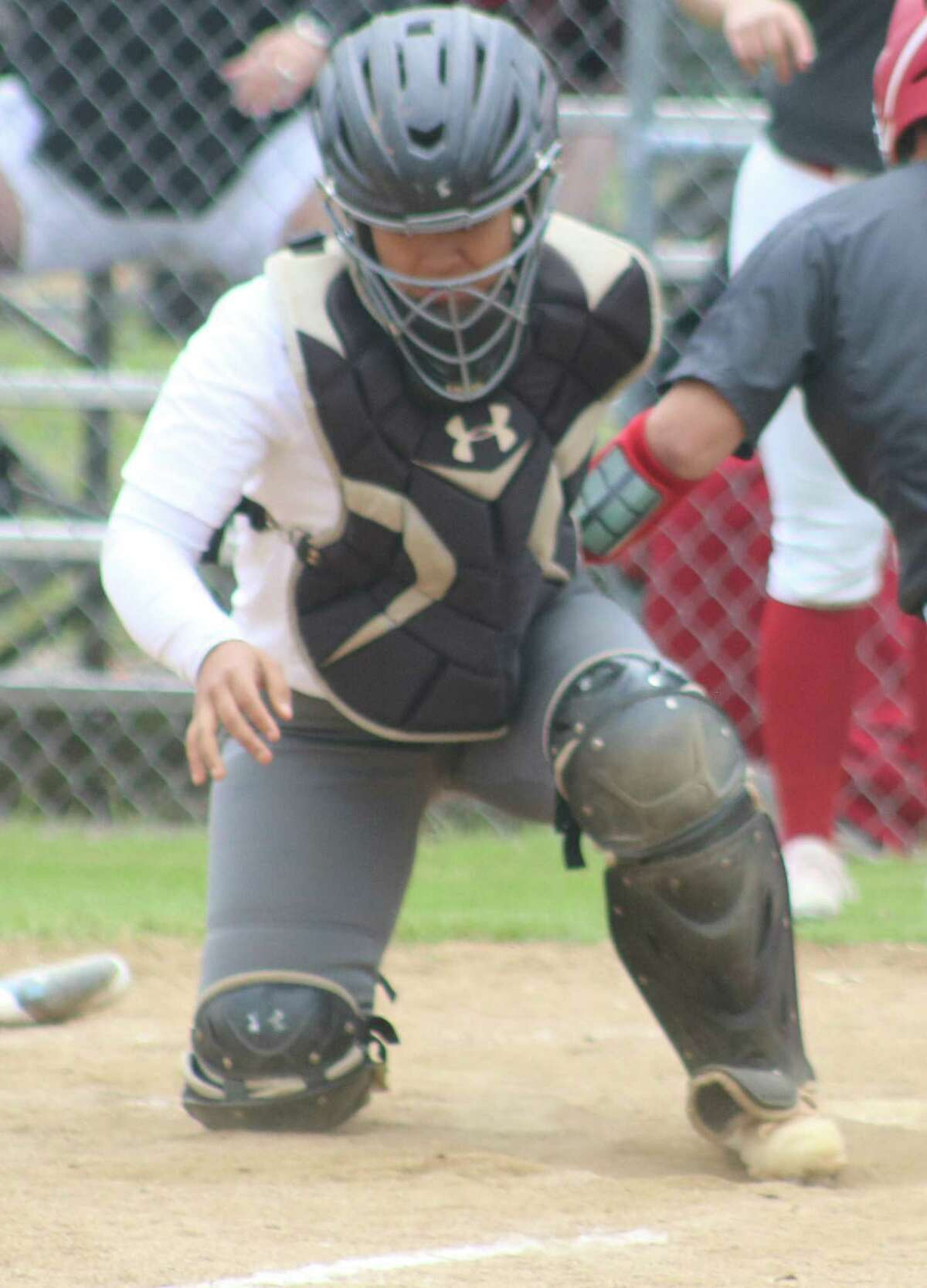 Memorial catcher Maria Andrade secured First Team All-District honors for her efforts in the shortened season this spring.