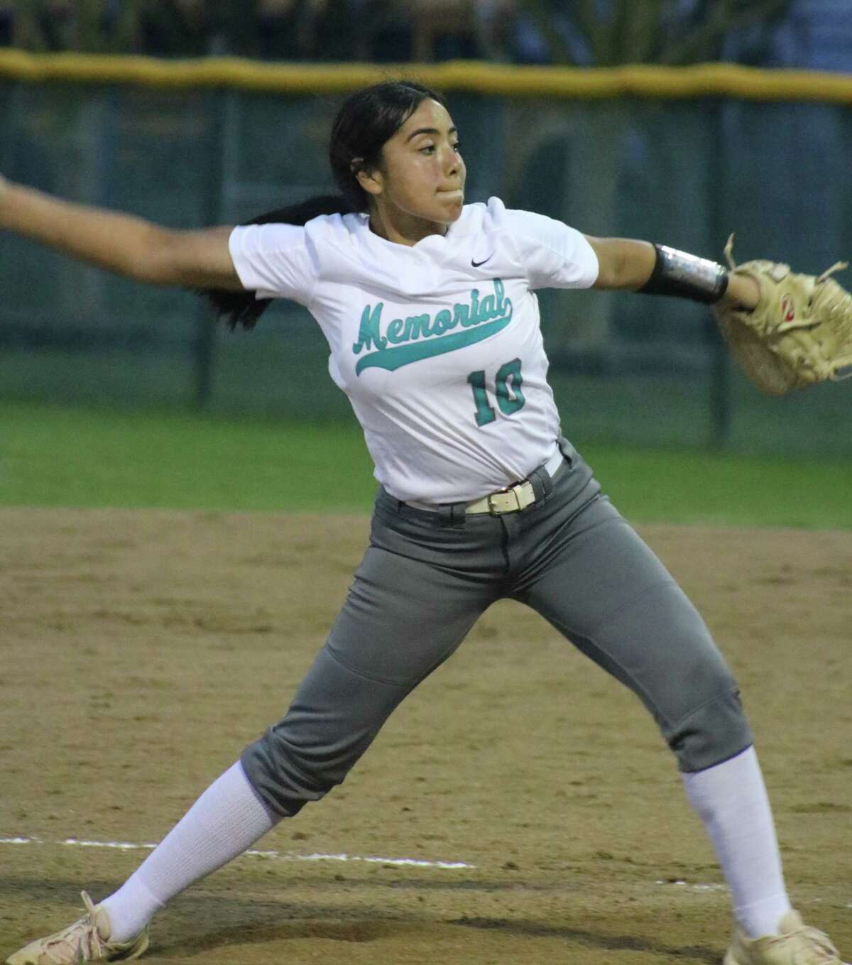 Lady Mavs pitcher Alessandra Borjas captured Second Team All-District honors in this season's shortened campaign.