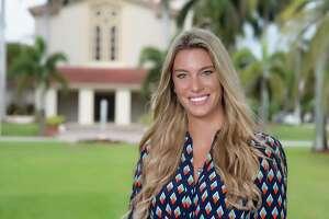 Kimberly A. (Cologgi) Shaffer at Barry University in Miami Shores, Florida. (Barry University photo)