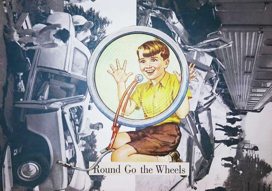 """Round Go the Wheels,"" m.sass Photo: Courtesy Of M.sass 