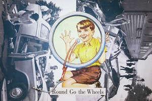 """""""Round Go the Wheels,"""" m.sass"""