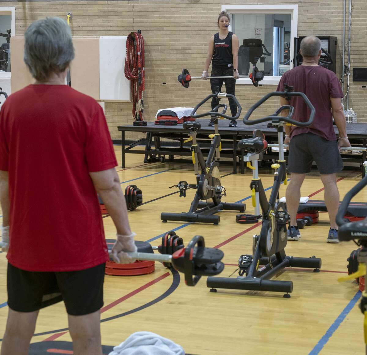 Visitors can try any group exercise class or workout area this week, including Bodypump barbell classes and Zumba. A schedule of classes can be found at midlandymca.org.