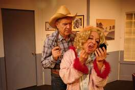'Sordid Lives' began as a play in Los Angeles in 1996. The play starred Newell Alexander, left, and Leslie Jordan.