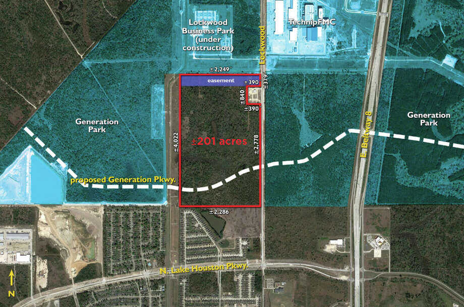 McCord Development purchased 201.19 acres of land from an affiliate of Exelon Generation Co. The deal bring the total area of Generation Park to 4,200 acres at the northeast corner of Beltway 8. Photo: Cushman & Wakefield