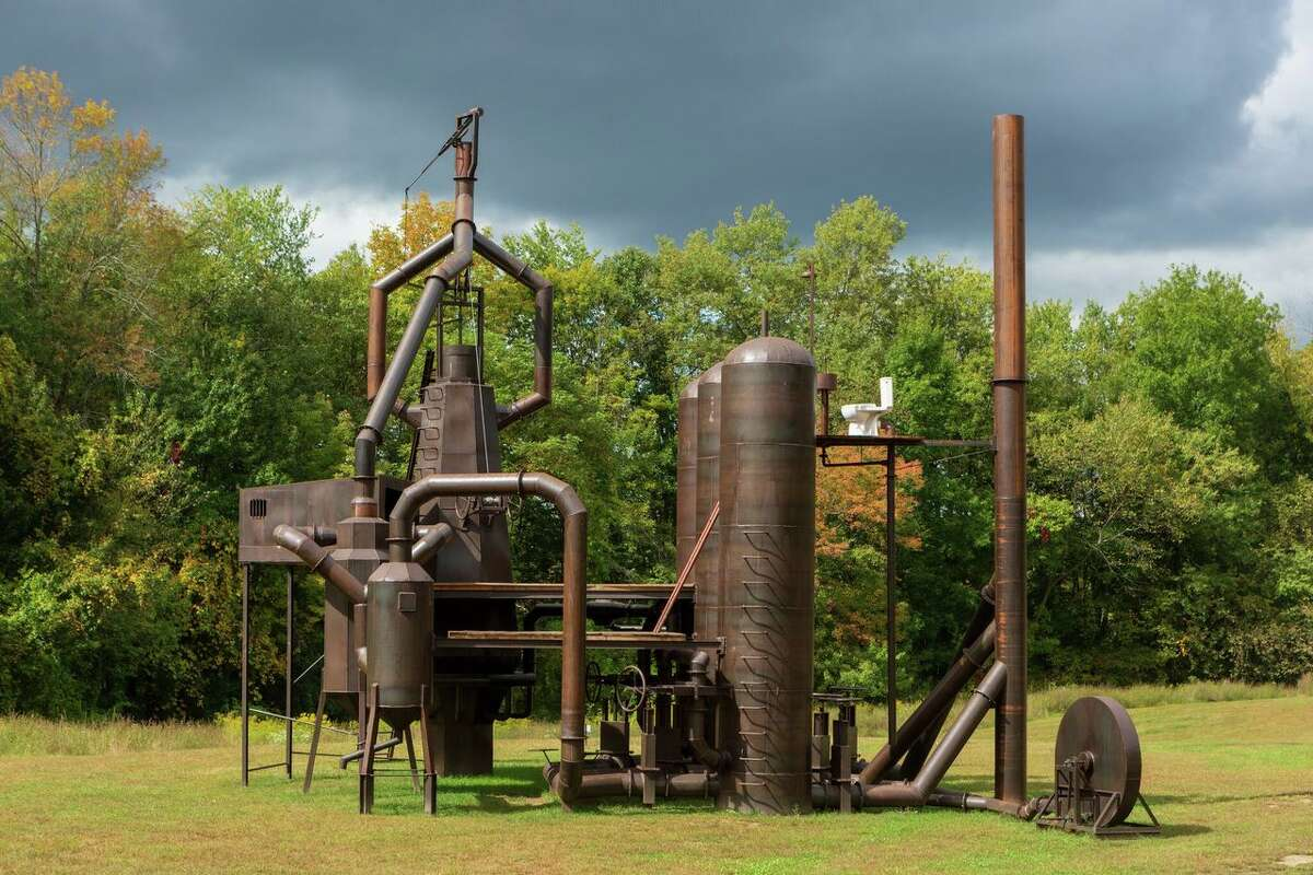 Atelier Van Lieshout, Blast Furnace. Photo by Bryan Zimmerman. Courtesy Art Omi.