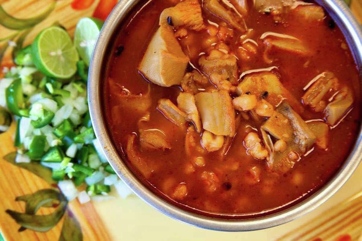 Menudo from Compadres Hill Country Cocina