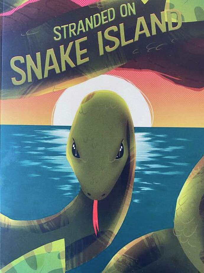 "Stranded on Snake Island"" is about two girls stranded on an island, trying to find their way out as their parents search for them. Photo: Contributed /"