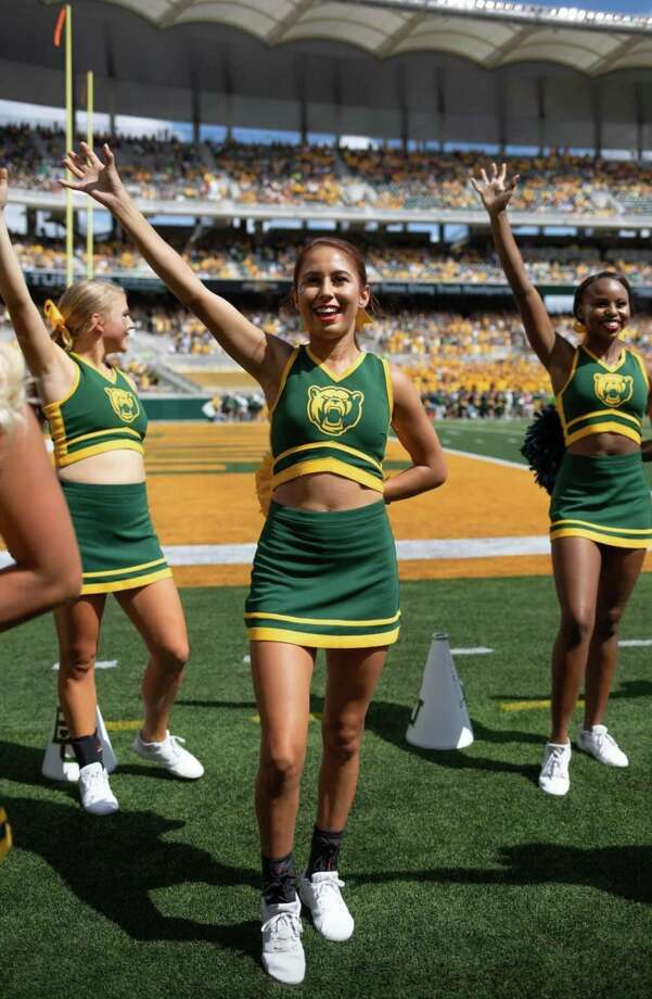 Laredo native Gianna Vacca cheered for Baylor last year as a freshman. Photo: Courtesy Of The Vacca Family