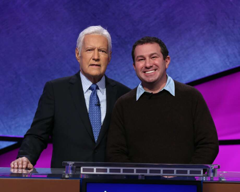 Peter Gouveia, the seventh grade English teacher at Rye Middle School, will be featured on the tournament, which runs from May 25 to June 5. Photo: Contributed By Jeopardy! / © 2020 Califon Productions, Inc.