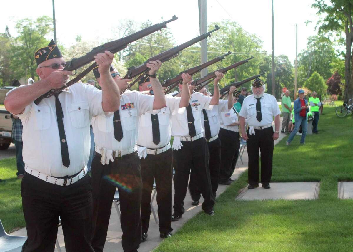 The Harry K. Kunzie American Legion Post No. 98will host a Memorial Day ceremony at 10 a.m. Monday at Holland Park, at the corner of Madison Avenue and Northland Drive in Big Rapids. (Pioneer file photo)