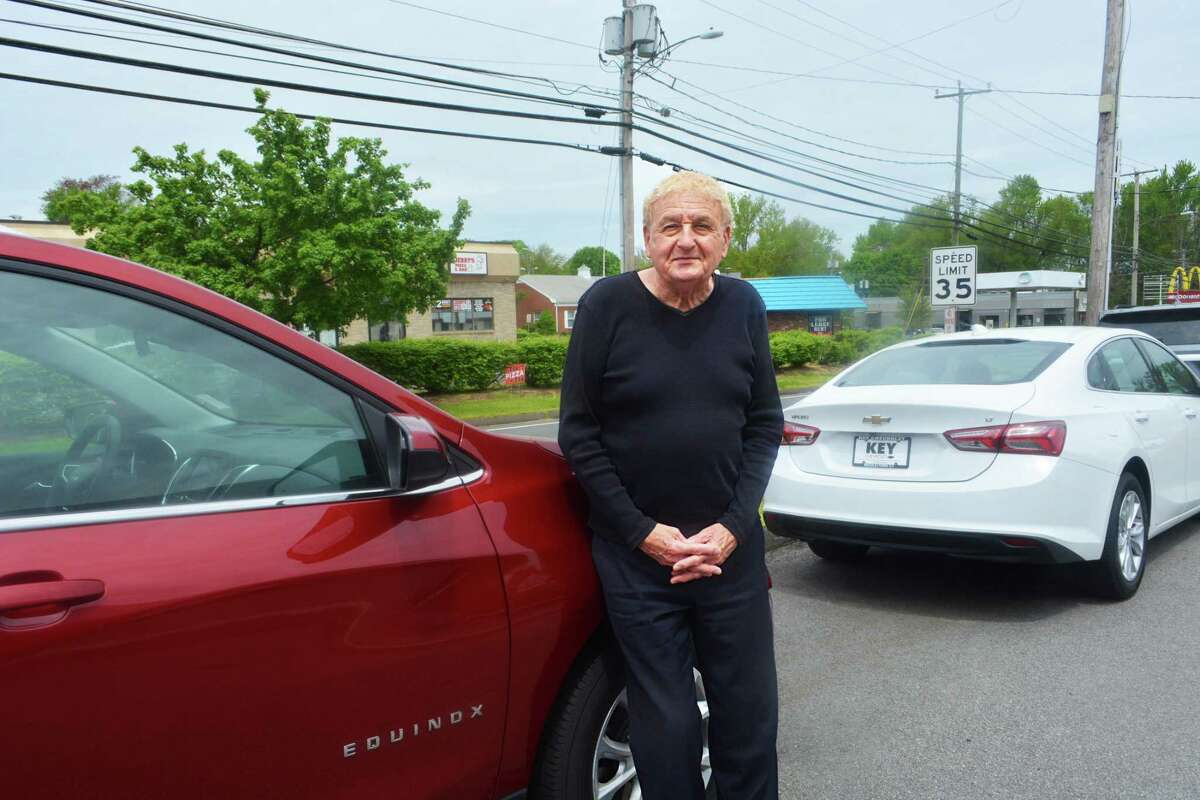 Key Chevrolet car salesman Stanley Statkiewicz will mark five decades at the company May 25. His co-workers planned a big celebration, but weren't able pull it together because of safety concerns due to the coronavirus pandemic.