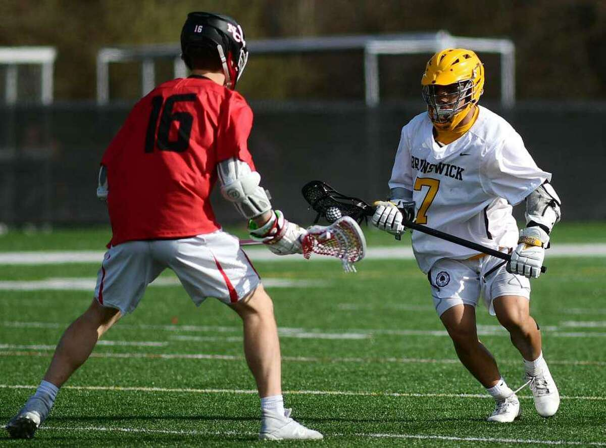 Michael Mauricio, who helped power the Brunswick School lacrosse team's attack, will play lacrosse at Dartmouth next season.