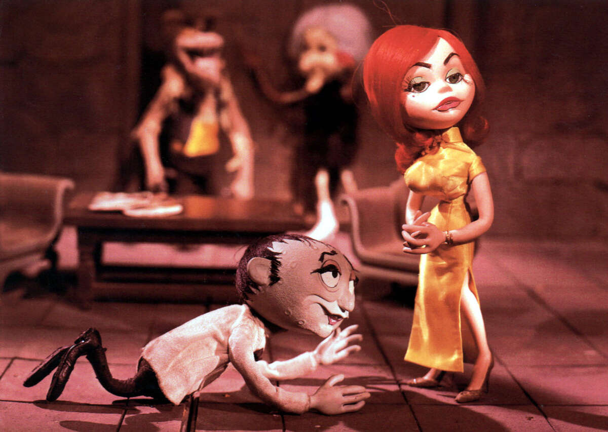 Rankin and Bass on TCM, beginning at 8 p.m. including Mad Monster Party. (1967).