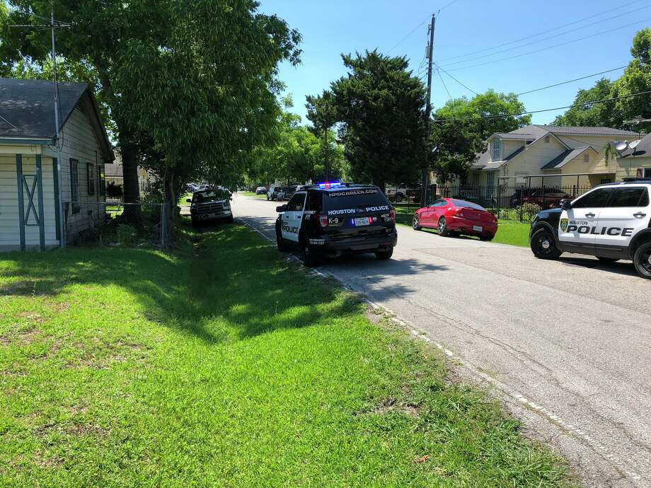 One person died and another was injured in a shooting Monday in the 900 block of Moody, police said. Photo: Houston Police Department