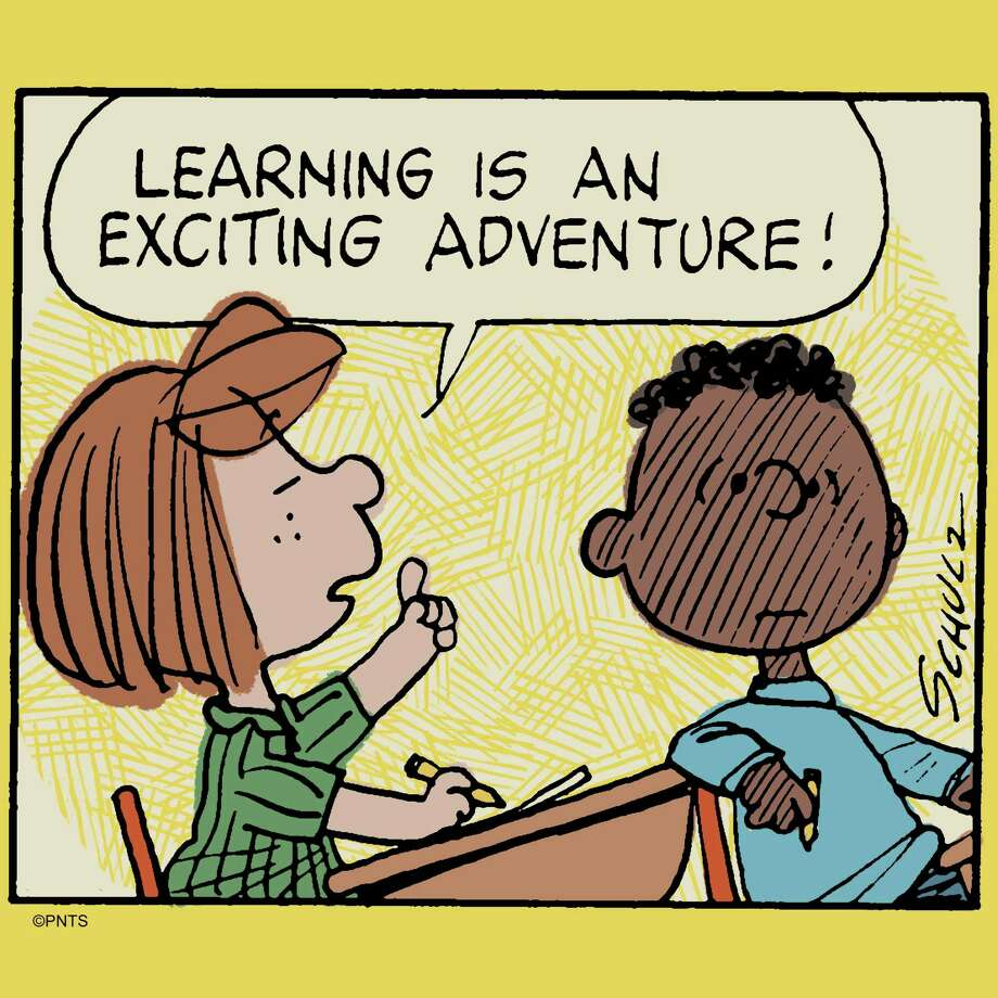 Peanuts.com is where parents who are home-schooling their children will find Charlie Brown and his friends featured in online lessons involving STEM skills, language arts and social studies. The free lessons, for ages 4 -14, were developed by curriculum specialists at Young Minds Inspired, based in North Haven. Photo: Peanuts Worldwide / Contributed Photo