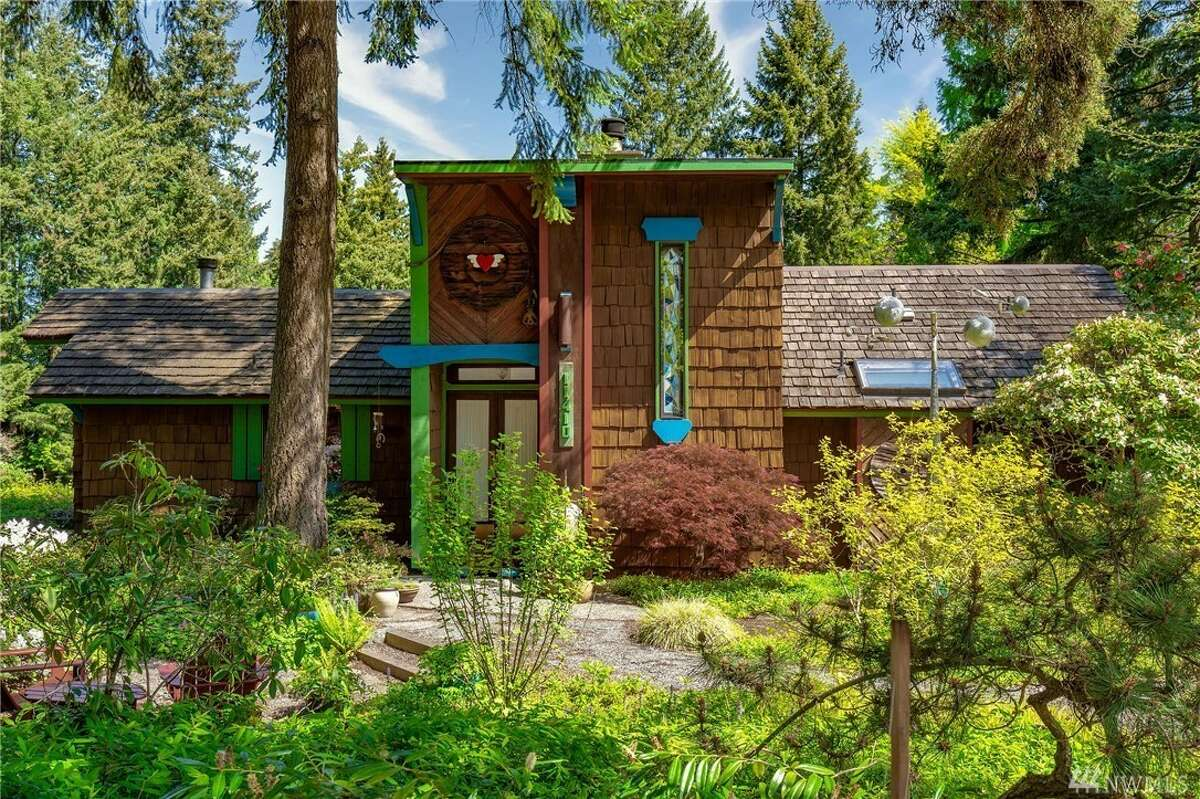 Funky enough for Heart's Nancy Wilson, now can be funky enough for you: this one-of-a-kind Kirkland Highlands home asks $1.2M.