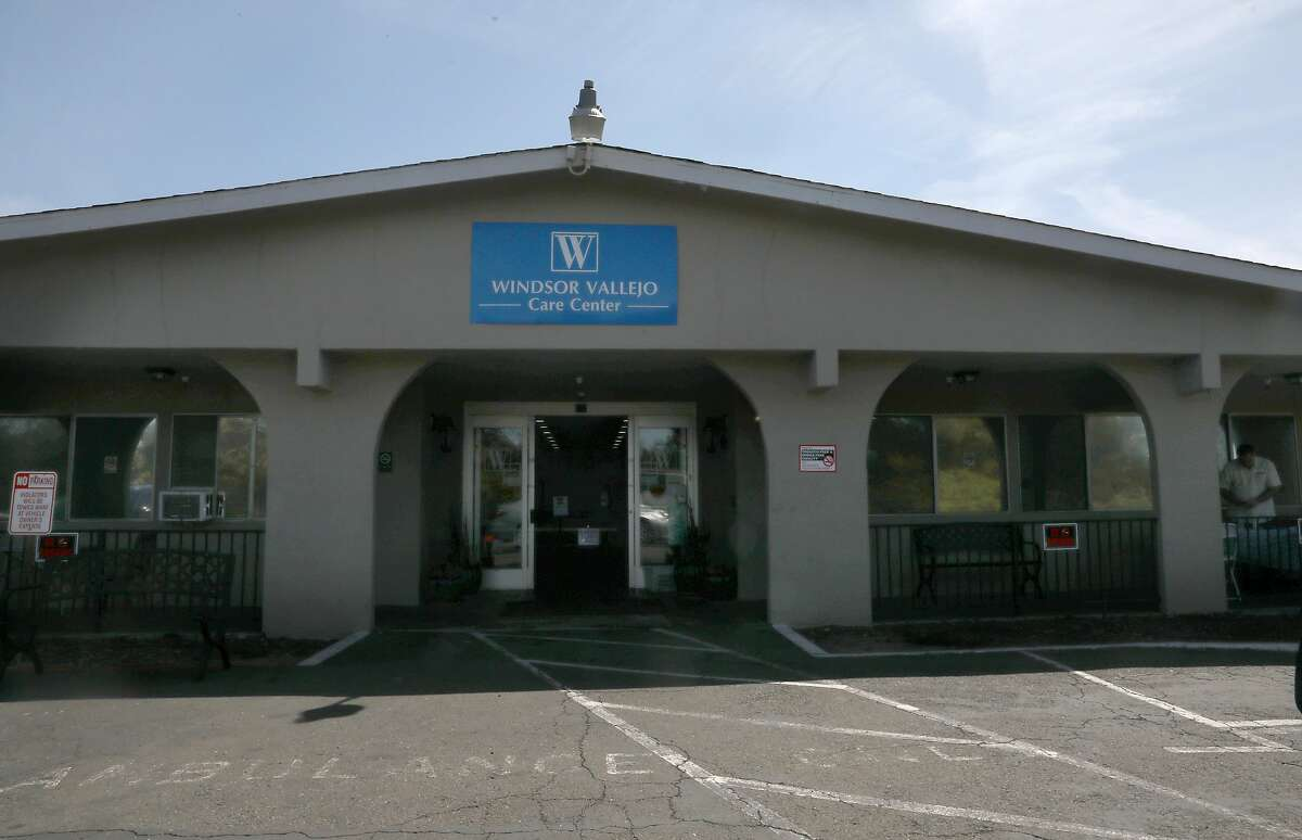 Windsor Vallejo Care Centeron seen on Thursday, May 7, 2020, in Vallejo, Calif. Windsor Vallejo Care Center has had one of the biggest nursing home outbreaks in the Bay Area with nearly 100 people infected.