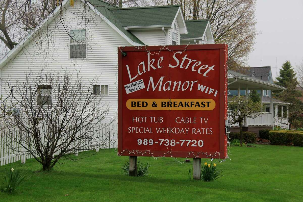 The Lake Street Manor Bed and Breakfast in Port Austin has been in operation since 1986. Co-owner Carolyn Waller said they have many guests come back year after year. (Robert Creenan/Huron Daily Tribune)