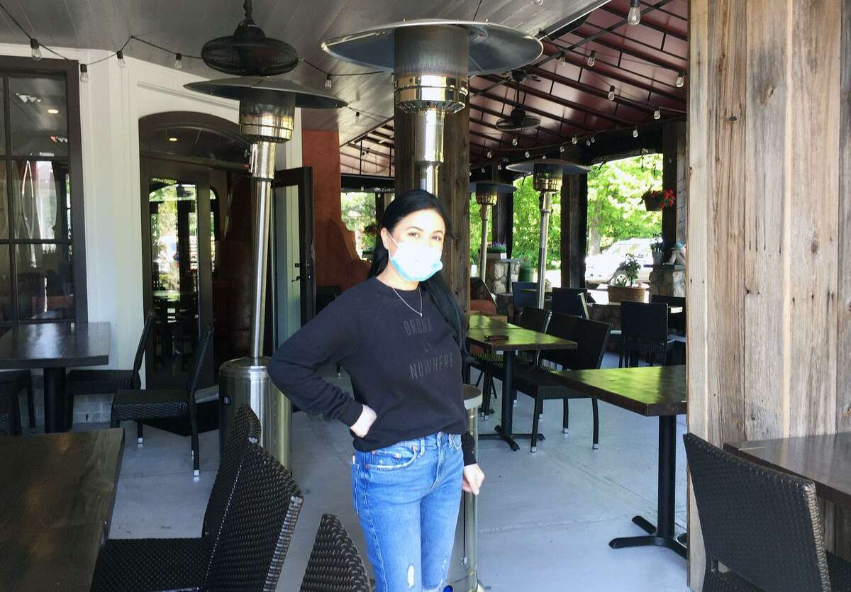 Maria Pertesis, owner of Cactus Rose in Wilton Center, is gearing up to reopen for outside dining.