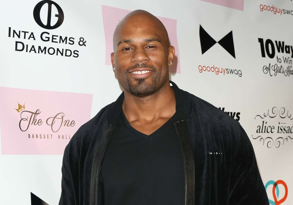 LOS ANGELES, CA - NOVEMBER 19: Pro Wrestler Shad Gaspard attends the book release party for Kris Wolfe's