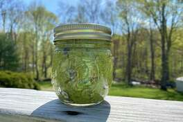 Pesto is an easy to make sauce that can be used in a variety of ways.