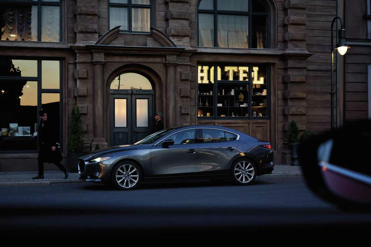 As part of a 2019 redesign, the Mazda3 became available with all-wheel drive. While the Mazda3 lacks sufficient road clearance - just 5.5 inches - to run in the dirt, the AWD option improves its all-weather capability compared with front-wheel-drive versions.