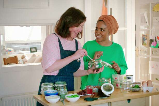 "Nadiya Hussain stars in ""Nadiya's Time to Eat"" on Netflix."