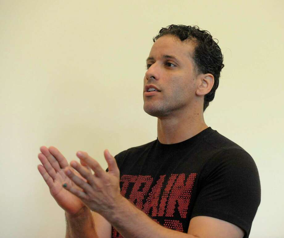 Luis Salgado is a Broadway performer, director, choreographer and producer. He will participate in the virtual reading of The Ernie DiMattia Emerging Young Artist Awards Fundraiser winners plays. Photo: Matthew Brown / Hearst Connecticut Media / Stamford Advocate