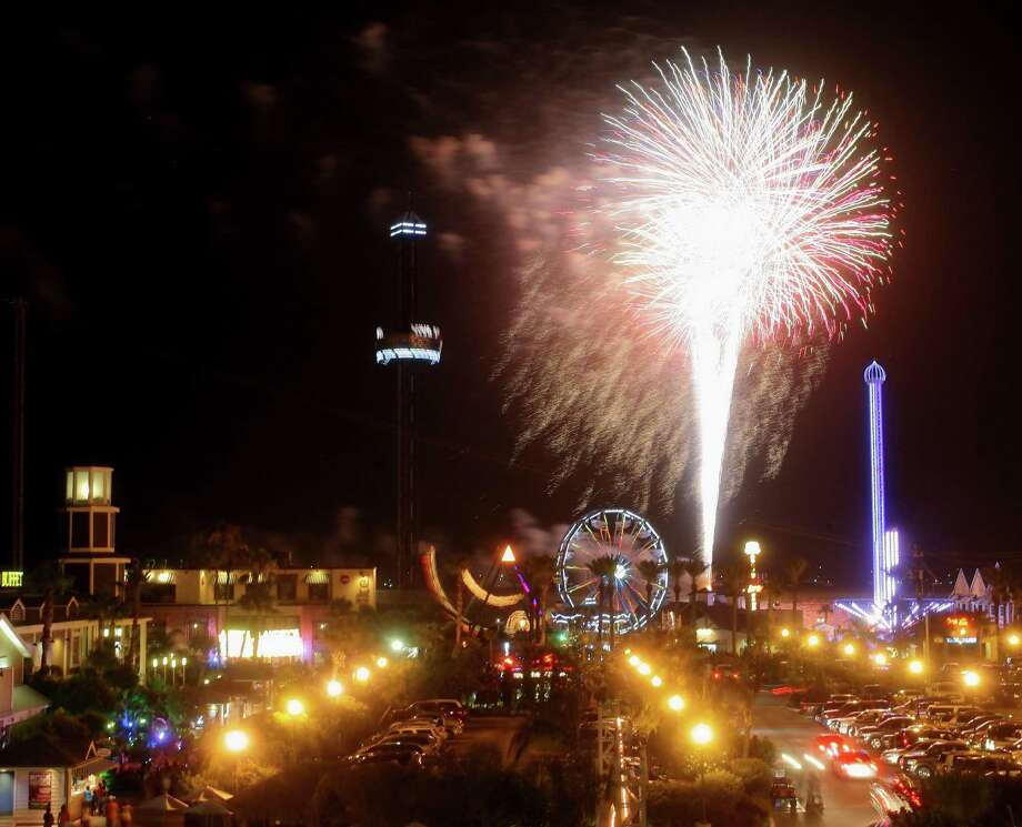 The city of Pasadena is planning to stage a fireworks display for the Fourth of July. But other planning is undetermined because of the novel coronavirus pandemic. Photo: Kar B Hlava / Internal