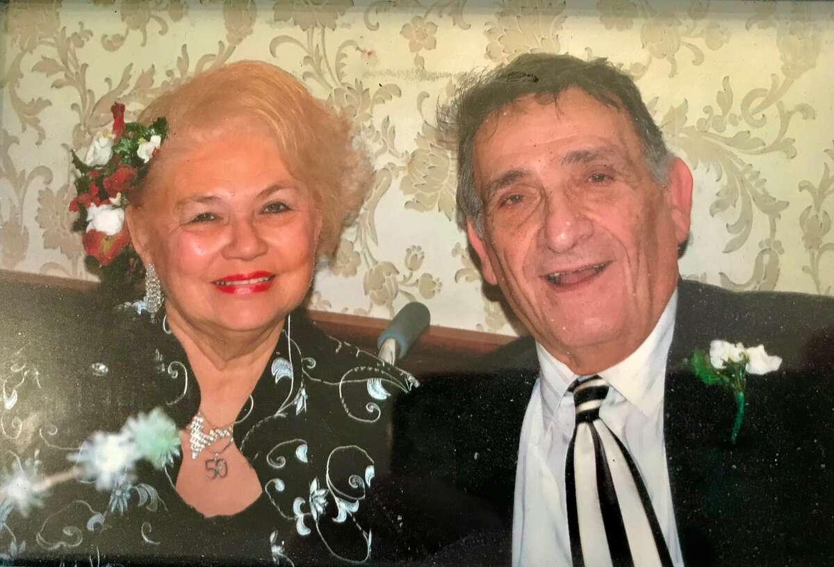 Marlene & John Elacqua celebrated her 80th birthday, which basketball great Sam Perkins, their surrogate son, attended last fall at Century House in Latham (Provided photo)