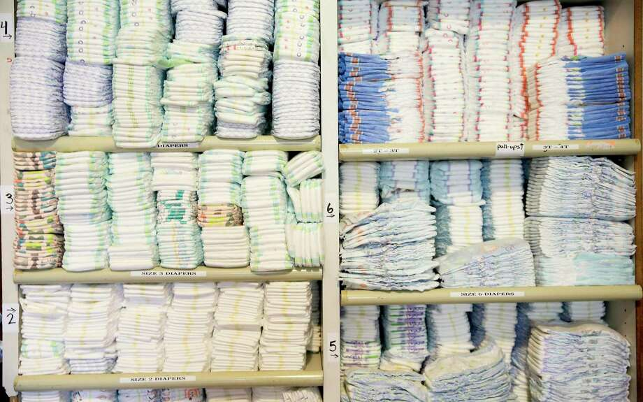 Diapers in storage Photo: File Photo / © 2018 Houston Chronicle