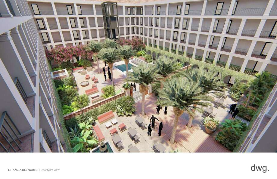 Presidian Hotels & Resorts is turning the DoubleTree by Hilton San Antonio Airport hotel into Estancia del Norte, which will be affiliated with the Tapestry Collection by Hilton brand. Photo: Courtesy Of Presidian Hotels & Resorts