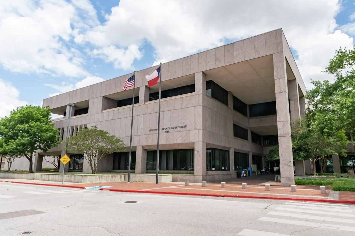 The Jefferson County Courthouse in downtown Beaumont. Photo made on May 13, 2020. Fran Ruchalski/The Enterprise