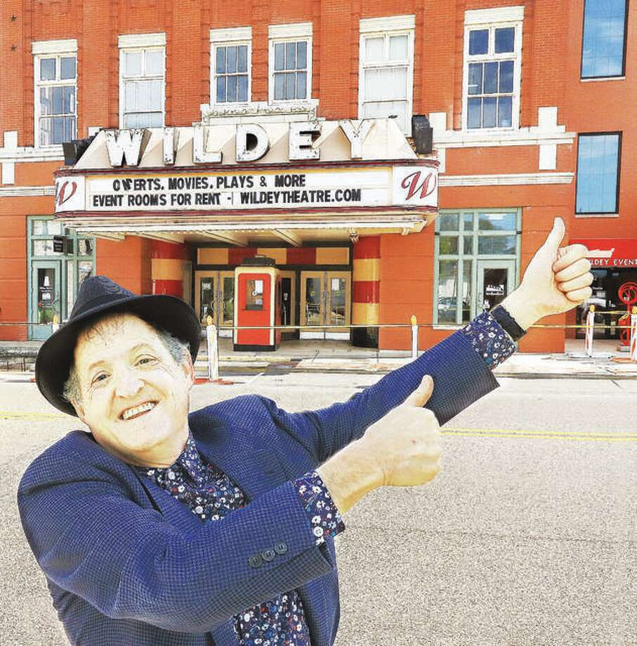 Wildey Theatre manager Al Canal gives the Edwardsville entertainment destination two thumbs up. Photo: John Badman | Hearst Illinois