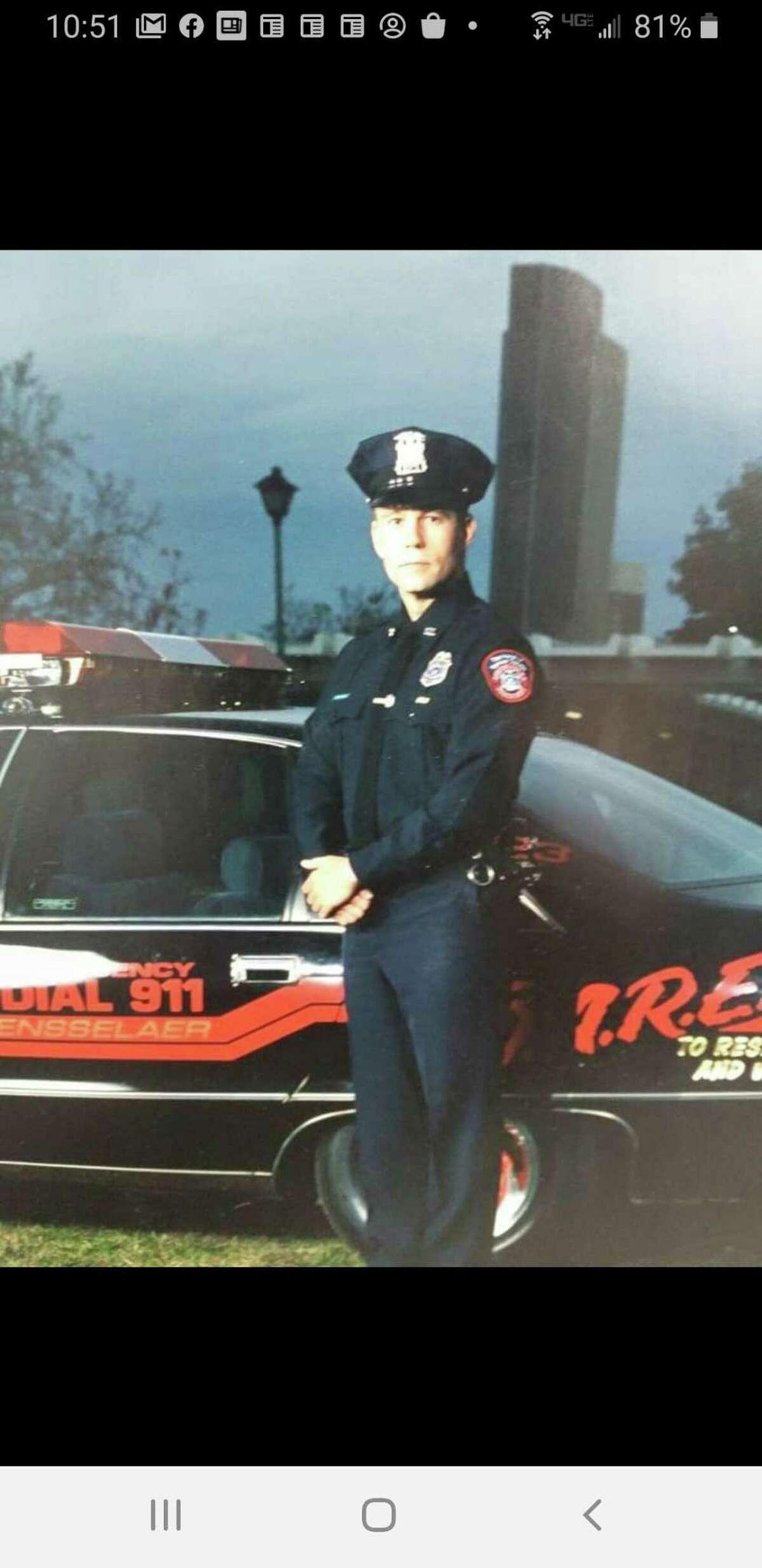 Rensselaer Police Officer Mark Goca.